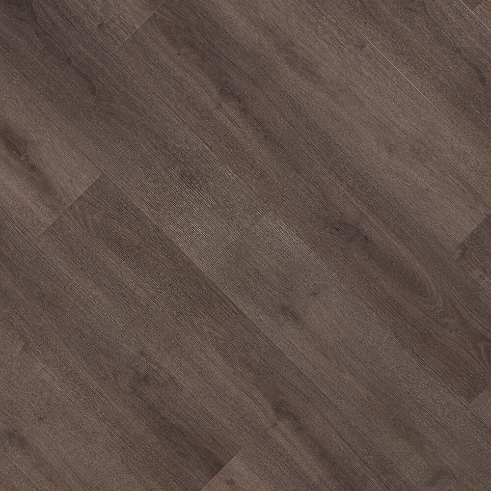 Closeup view of a floor with Woods Cove vinyl flooring installed