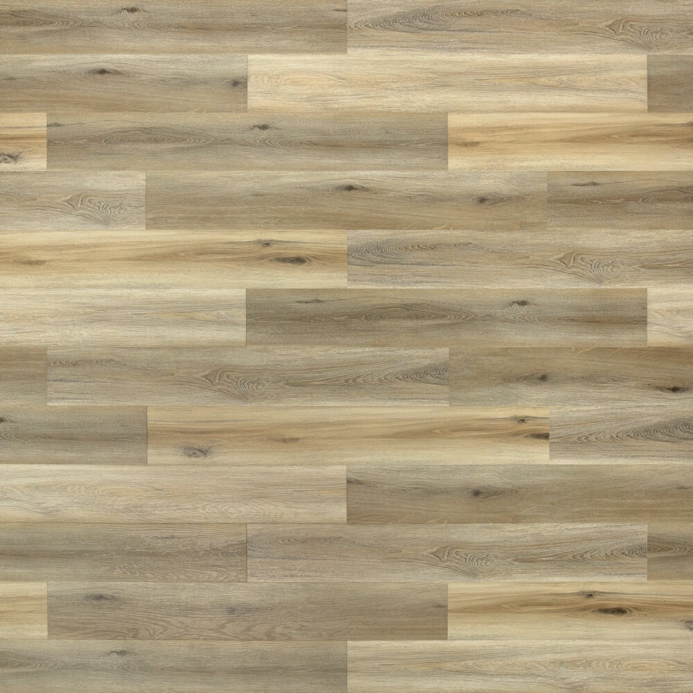Closeup view of a floor with Meadow vinyl flooring installed