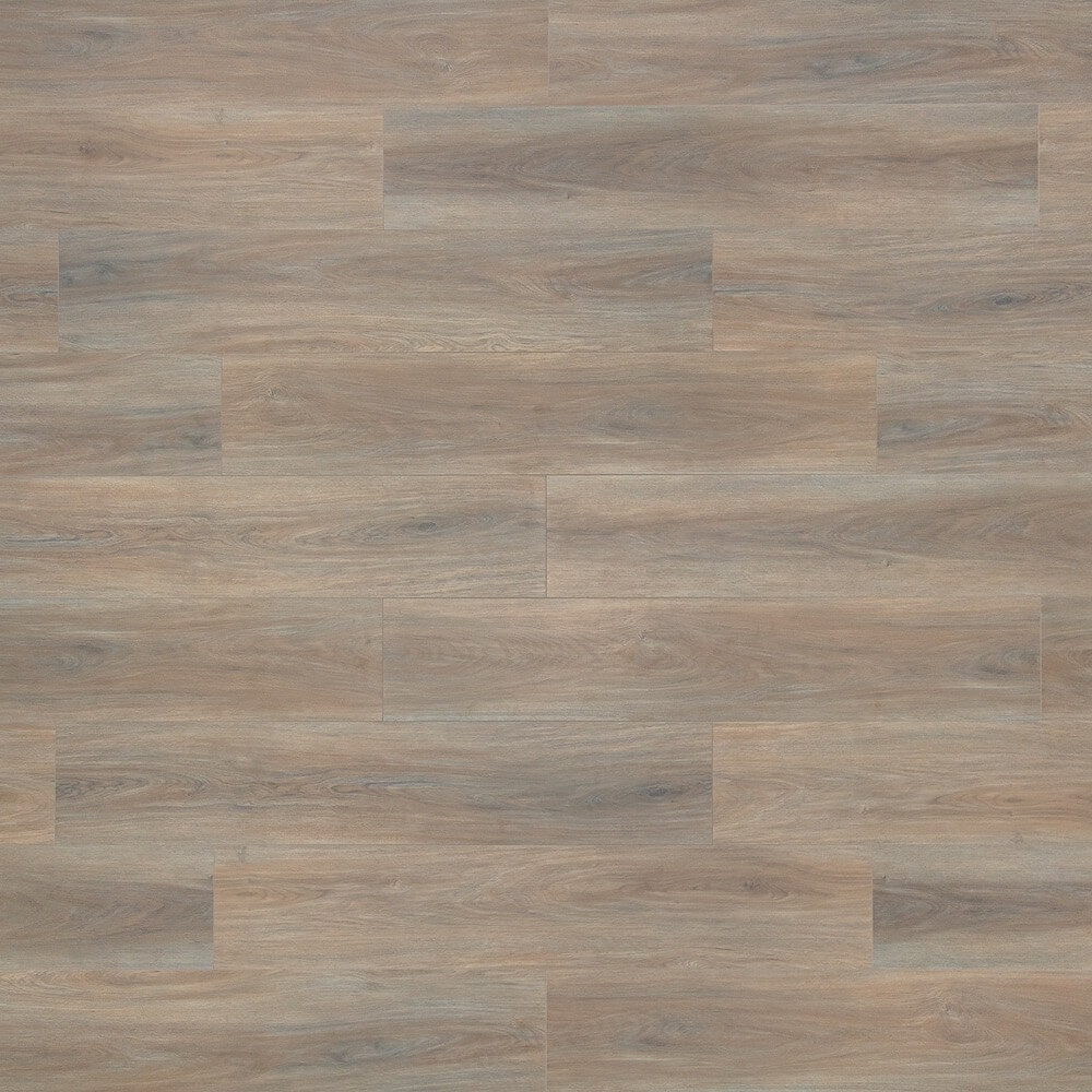 Closeup view of a floor with Forest Wood - Scratch Resistant Waterproof Floating Floor vinyl flooring installed