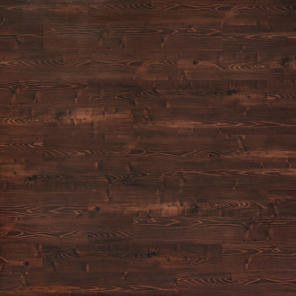 Closeup view of a floor with Sunrise vinyl flooring installed
