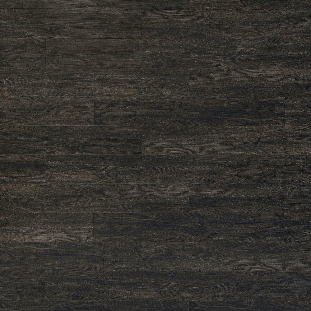 Product image for Midnight Grey vinyl flooring plank (SKU: 7030) in the Level Seven product line from Urban Surfaces