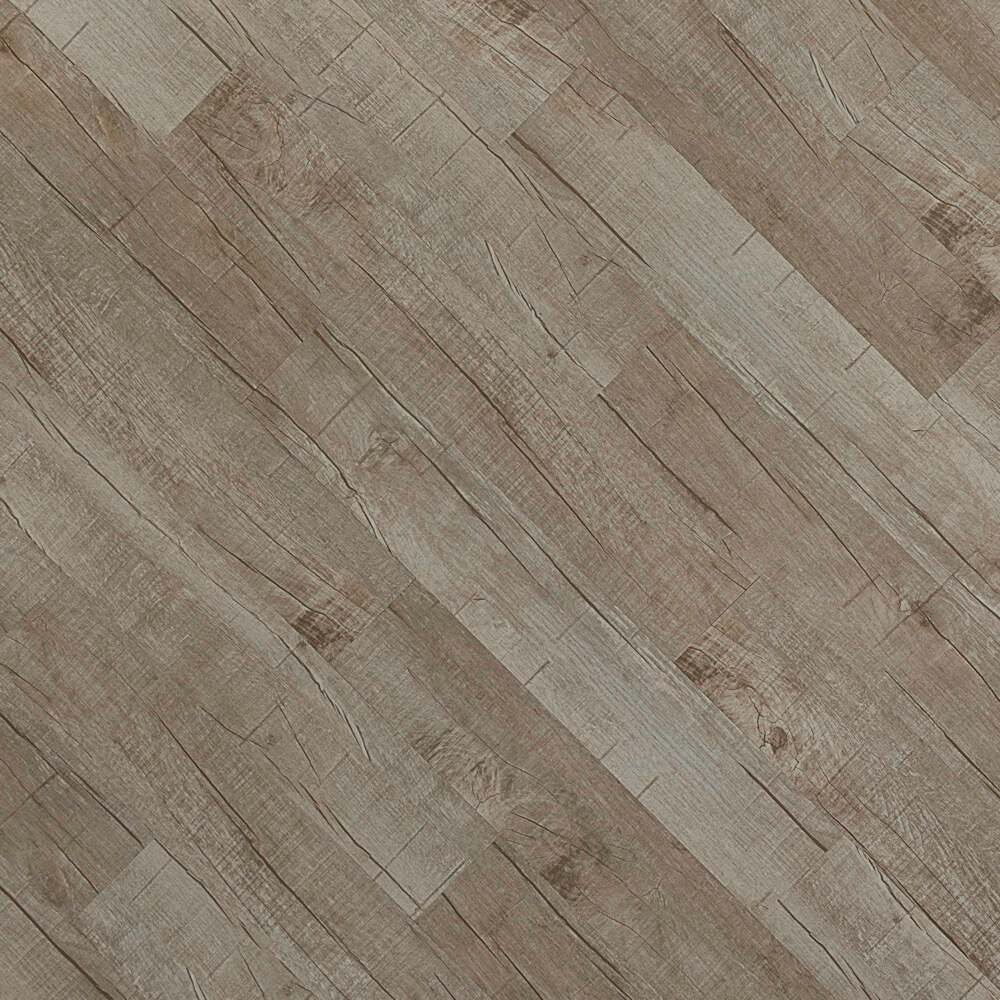 Closeup view of a floor with Beach House vinyl flooring installed