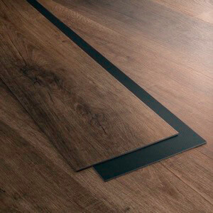 Example of a room using Pike vinyl flooring (SKU: 7021) in the Level 7 product line
