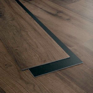 Example of a room using Emberwood vinyl flooring (SKU: 7061) in the Level 7 product line