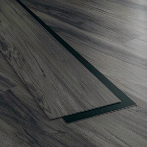 Example of a room using Denali vinyl flooring (SKU: 7103) in the Level 7 product line