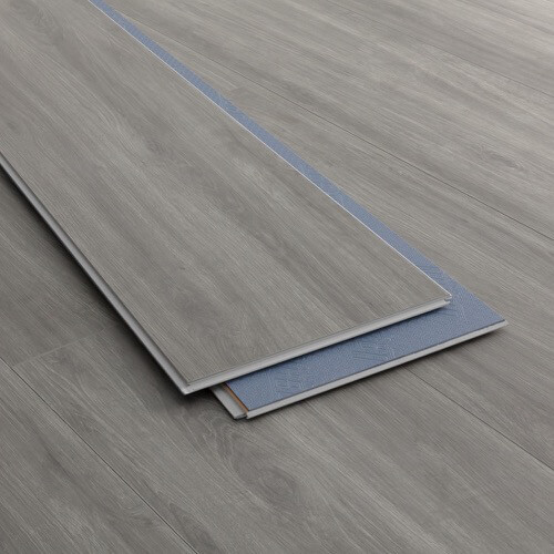 Product image for Summit Gray - Scratch Resistant Waterproof Floating Floor vinyl flooring plank (SKU: 3801) in the SurfaceGuard product line from Urban Surfaces