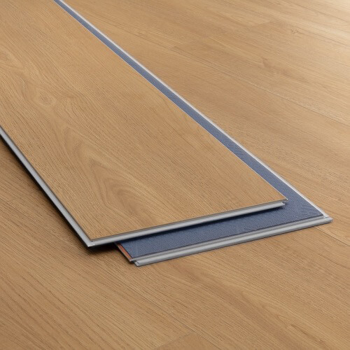 Product image for Belvedere Cream vinyl flooring plank (SKU: 3807) in the SurfaceGuard product line from Urban Surfaces