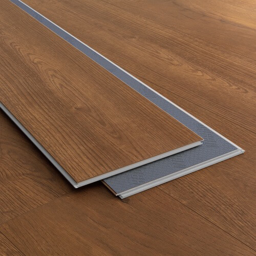 Product image for Copper Oak vinyl flooring plank (SKU: 3809) in the SurfaceGuard product line from Urban Surfaces
